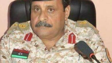 آمر منطقة سبها العسكرية اللواء المبروك الغزوي
