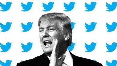 الرئيس الأميركي دونالد ترامب وشركة تويتر