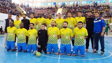 فريق الجزيرة الدوري الليبي لكرة اليد
