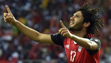 محمد النني لاعب المنتخب المصري