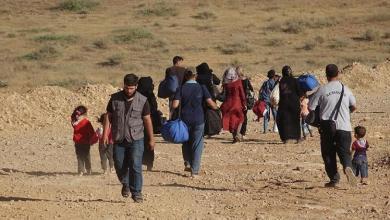 إخلاء آلاف السكان من مناطق غرب سوريا