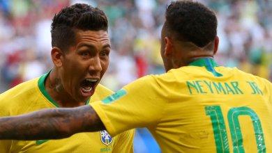 المنتخب البرازيلي ضد المنتخب المكسيكي بمونديال روسيا 2018
