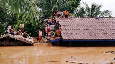 اضرار انهيار السد - لاوس