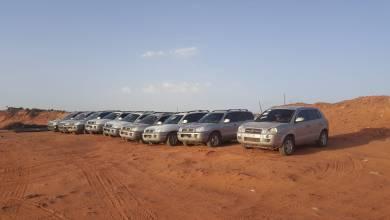 عمليات تهريب السيارات الليبية