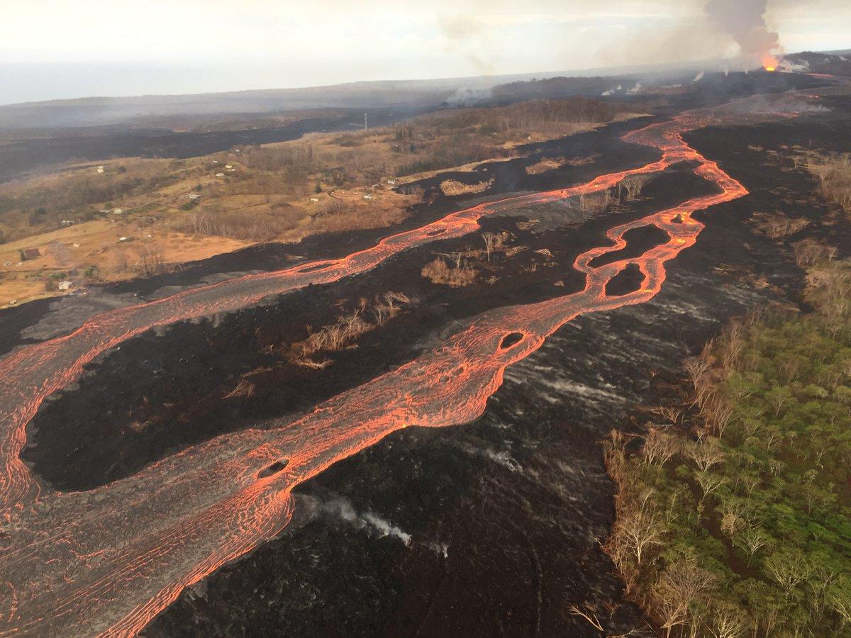 بركان كيلوا في جزيرة هاواي الأميركية