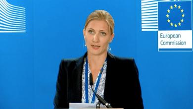 المتحدثة باسم المفوضية الأوروبية ناتاشا برتود