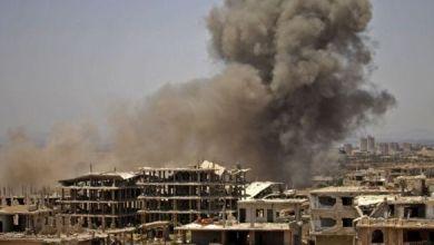 ضربة جوية مجهولة بالحدود السورية الشرقية