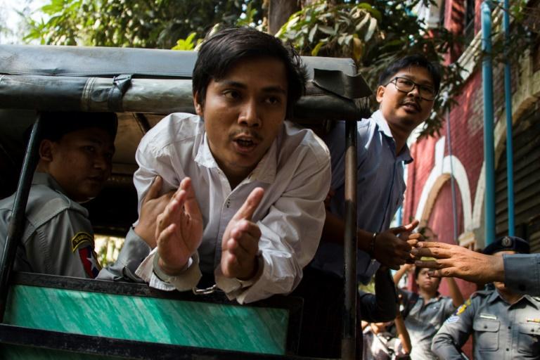سجن صحفيين في ميانمار