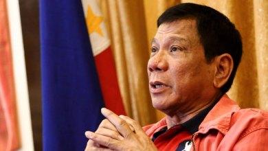 الرئيس الفلبيني رودريغو دوتيريتي