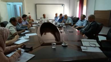 إجتماع حول تطوير مناهج الثانوي