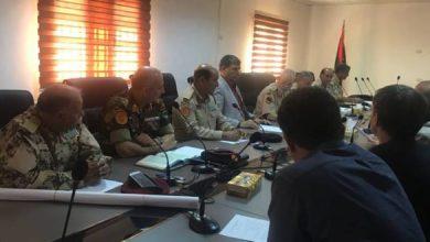الاجتماع الفني بشأن الترتيبات الأمنية طرابلس - الانترنت