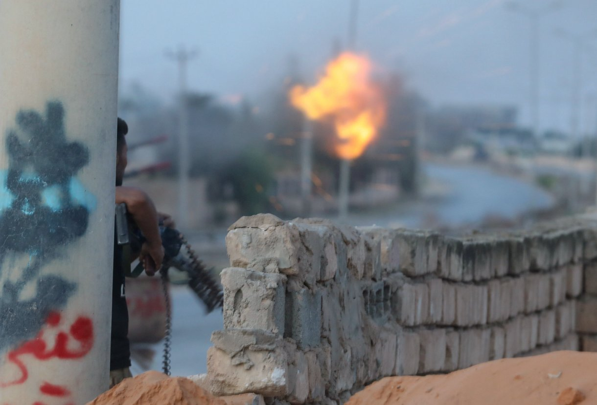 اشتباكات طرابلس