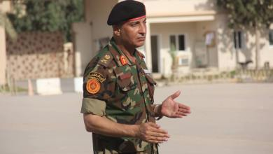 آمر المنطقة الوسطى محمد الحداد