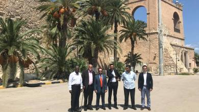 السفارة الليبية بمدريد تستضيف فريق معهد صيانة وترميم الاثار الاسباني بطرابلس