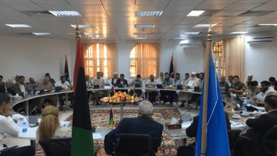 اجتماع وقف إطلاق النار في طرابلس
