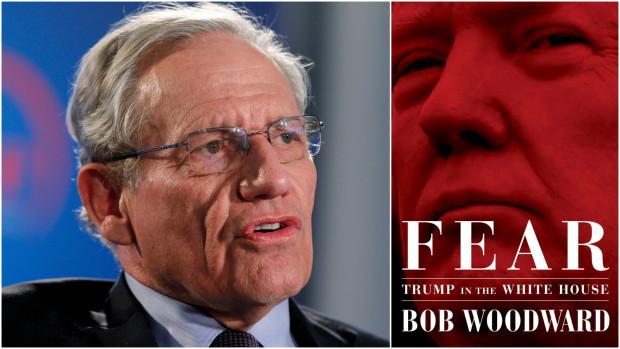 الصحفي الأمريكي بوب وودوارد