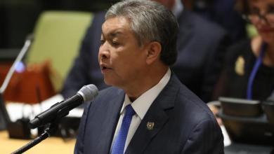 وزير الداخلية السابق، زعيم المعارضة في ماليزيا زاهد حميدي