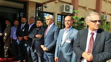 اللجنة التسييرية المُكلفة من الحكومة الموقتة - بلدية بنغازي