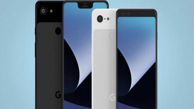 هواتف غوغل Pixel 3