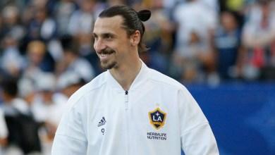 اللاعب السويدي زلاتان إبراهيموفيتش