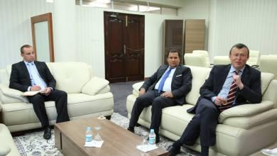 السفير الأوكراني في ليبيا ميكولا ناهورني
