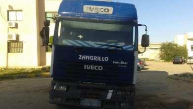 شاحنة تهريب وقود ضبطت في العقربية