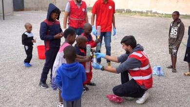 فعاليات ترفيهية للترويح عن المهاجرين غير الشرعيين - زوارة