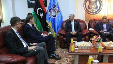 باشاغا يبحث سبل التعاون الأمني مع ألمانيا