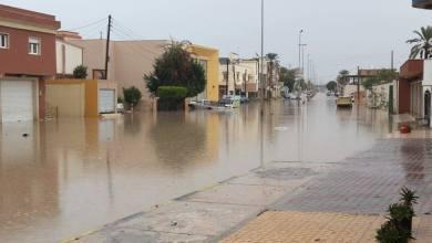 منخفض جوي على ليبيا اليوم الجمعة- إرشيفية
