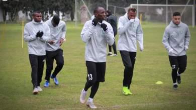 تدريبات نادي الأهلي طرابلس