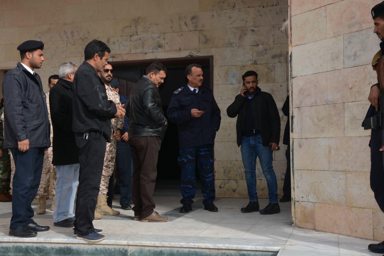 تسليم مقرات أمنية في الجفارة