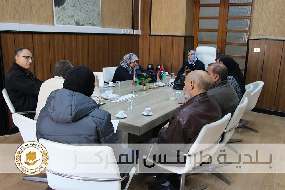 تعاون الأمم المتحدة مع بلدية طرابلس