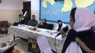 مسابقة المذيع الصغير في بنغازي