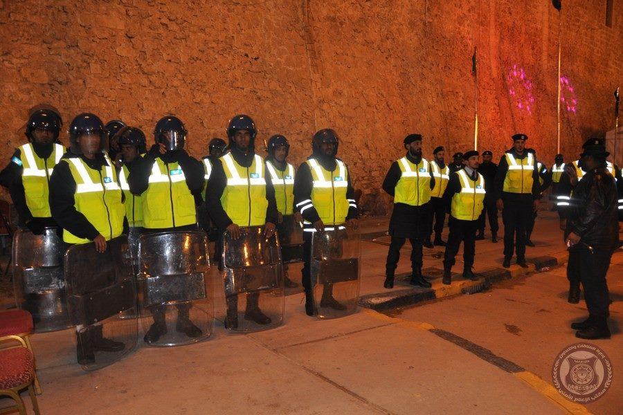 الأمن المركزي طرابلس يرفع درجة التأهب