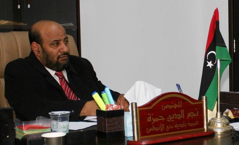 عميد بلدية حي الأندلس السابق نجم الدين حمزة