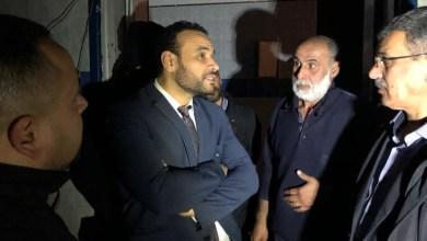 وكيل وزارة الصحة الدكتور محمد هيثم يجري جولة تفقدية لمستشفى طرابلس