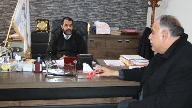 رئيس هيئة الرقابة الإدارية عبد السلام الحاسي مع وزير الداخلية