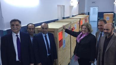 وصول أجهزة طبية - مستشفى الأطفال بنغازي