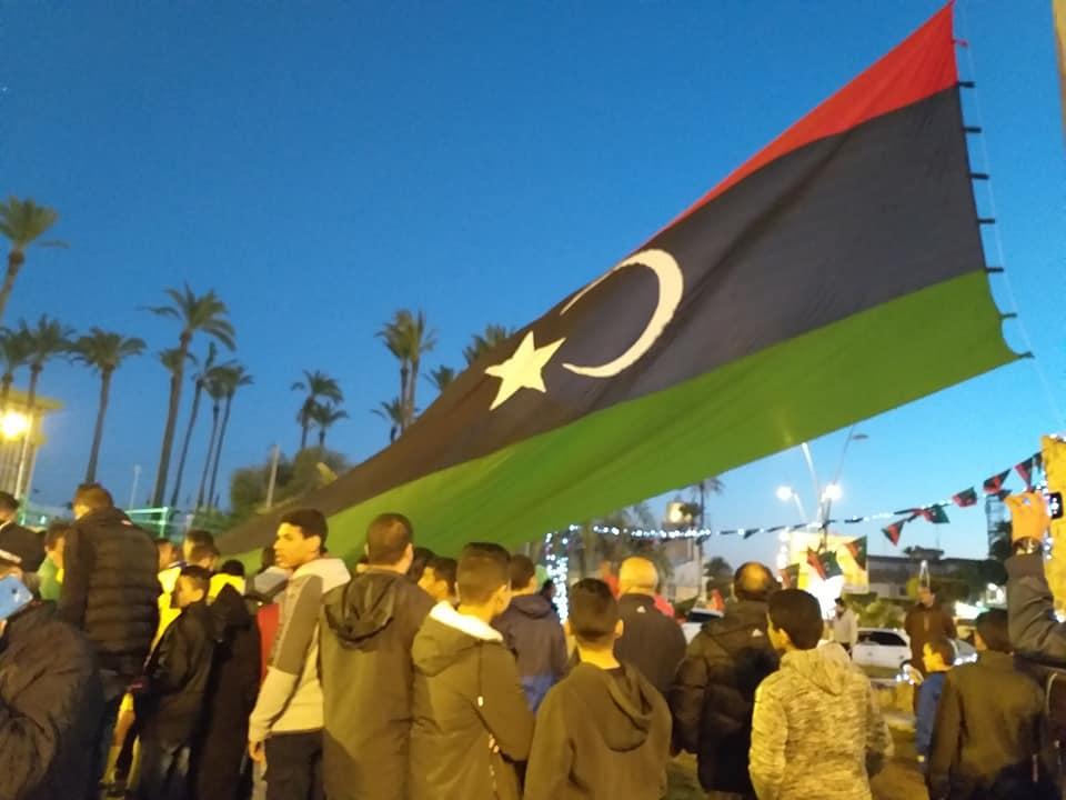 استعدادات في تاجوراء لإحياء الذكرى الثامنة للثورة