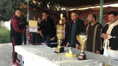 تكريم أبطال الكرة المصغرة في صرمان