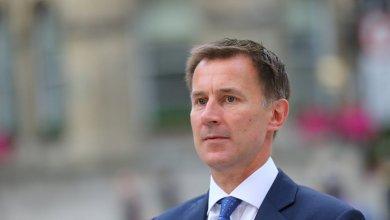 وزير الخارجية البريطاني، جيريمي هنت