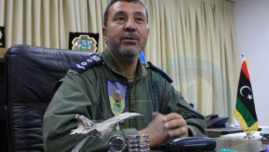 قائد غرفة عمليات القوات الجوية التابعة للجيش الوطني اللواء محمد المنفور