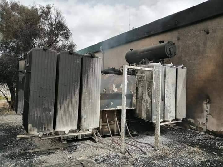 آثار اشتباكات طرابلس على الكهرباء - ارشيفية