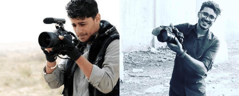 الصحفيّين محمد القرج ومحمد الشيباني
