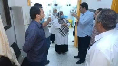مستشفى الكويفية - وفد صحة المؤقتة في زيارة تفتيشية