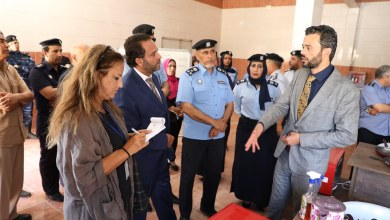 وزارة العدل بحكومة الوفاق تفتتح معمل انتاج خبر وحلويات داخل أحد سجون النساء في طرابلس