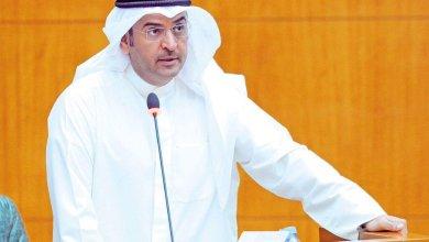 وزير المالية نايف الحجرف