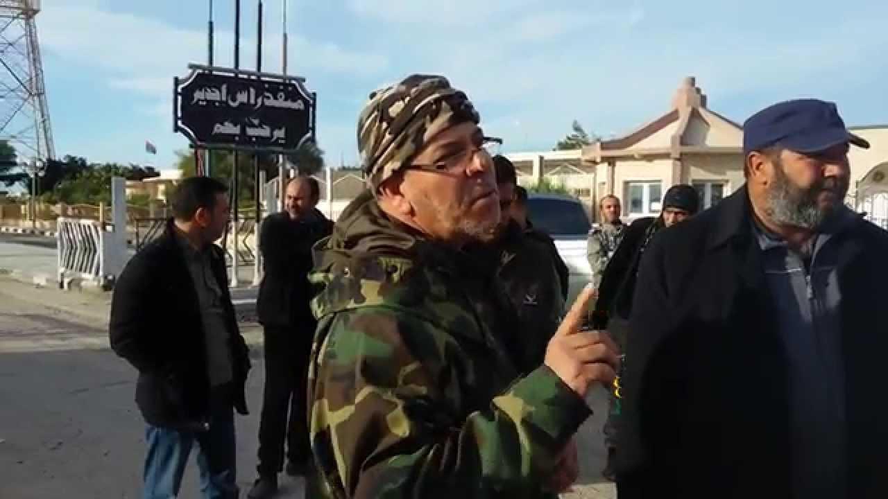 """صلاح بادي - قيادي في المجموعات المسلحة الموالية لقوات الوفاق-""""صورة أرشيفية"""""""
