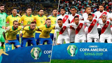 منتخب البيرو - منتخب البرازيل