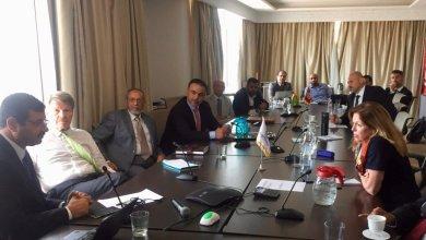 وفد من بعثة الأمم المتحدة للدعم في ليبيا ويونسيف والبنك الدولي مع إدارة الهيئة العامة للموارد المائية في ليبيا
